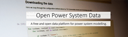 Open Power System Data